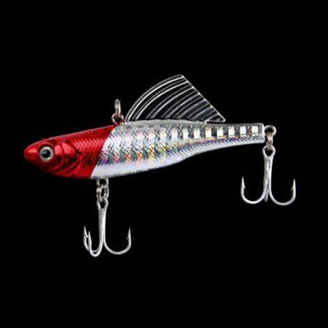 14g 6.5cm winter fishing lures hard bait VIB with lead inside lead fish ice sea fishing tackle swivel jig wobbler lure