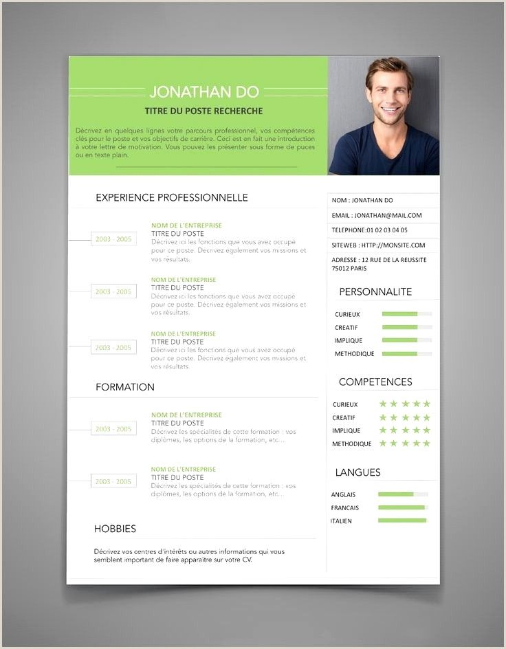 Exemple De Cv Facile Resume Design Resume Examples Cv Words