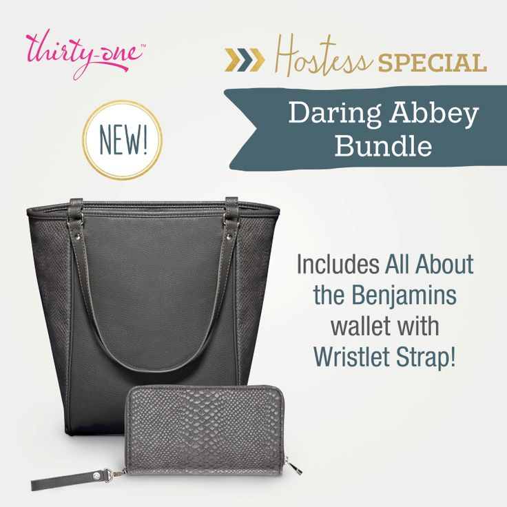 Thirty-One's August Hostess Special - Daring Abbey Bundle