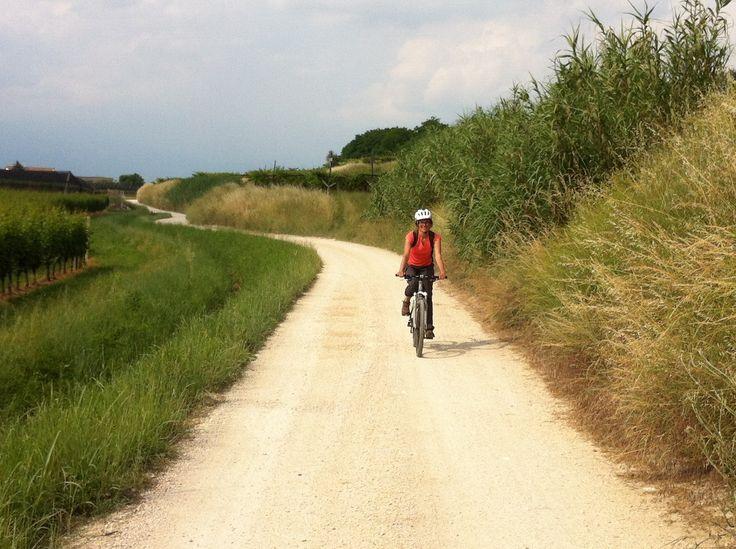 Nei Parchi del Garda in biciletta. Ritorno al Parco natura Viva