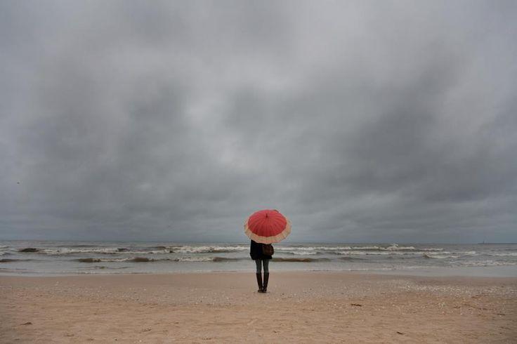 Świnoujście. Poland. Beach. Autumn.