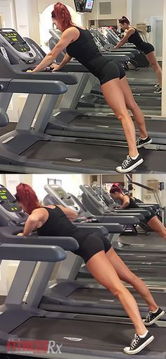 Lunge, Push, Run!: The Total Body Treadmill Workout. This program will shake up your tired treadmill workout and help you push for more results.