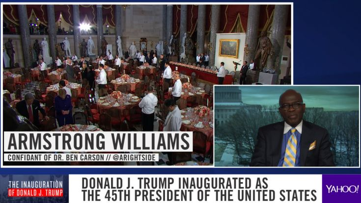 "Conservative commentator Armstrong Williams told Yahoo News on Friday that President Trump rejected suggestions to send a more unifying message with his inauguration speech.  ""Even his closest advisers felt that more should've been in the speech about bringing America together, about the opportunities"