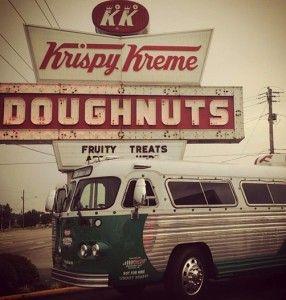 FREE Krispy Kreme Donut when you join the Friends of Krispy Kreme club!  TheFrugalGirls.com