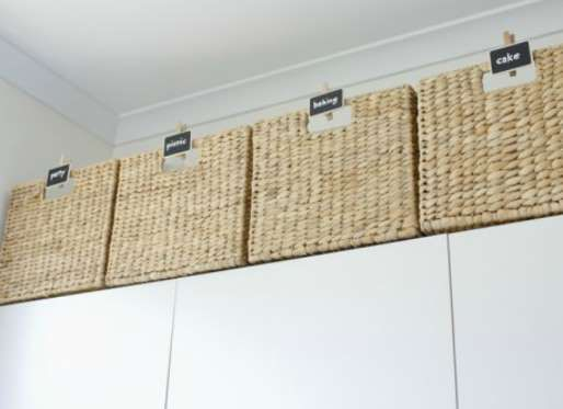 When counters and cabinet shelves grow full, take clutter-clearing to the next level. Here, bargain ... - atypicalpea.com