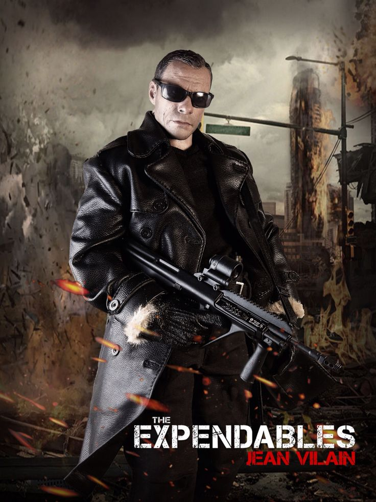 The Expendables: Jean Vilain 1/6 Costom Kitbash #Expendables