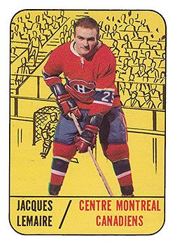 OPC 1967-1968 Jacques Lemaire  rc