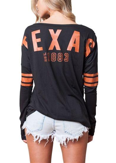 University of Texas Austin Longhorns Womens Spirit Football Jersey 444d515a9a