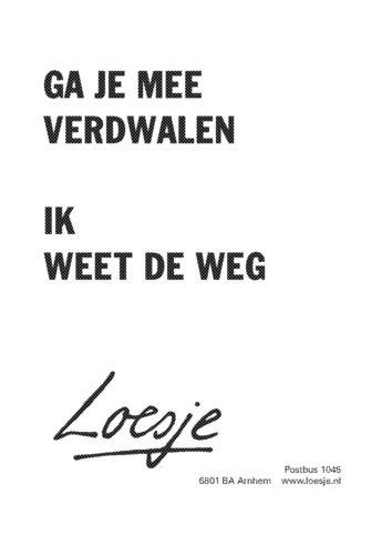 Mijn favoriete Loesje-poster