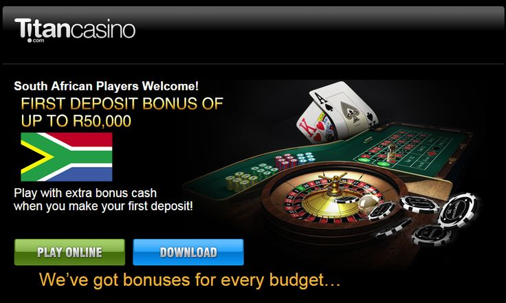 #BestCasinoinSouthAfrica   #TitanOnlineCasino   #BestOnlineCasinoinSA  Which is the best casino in South Africa? Check out why we rate Titan Online Casino as one of the best casino for SA players. R50,000 free online casino bonus!  http://onlinecasinobonus.co.za/titan-online-casino-review.html