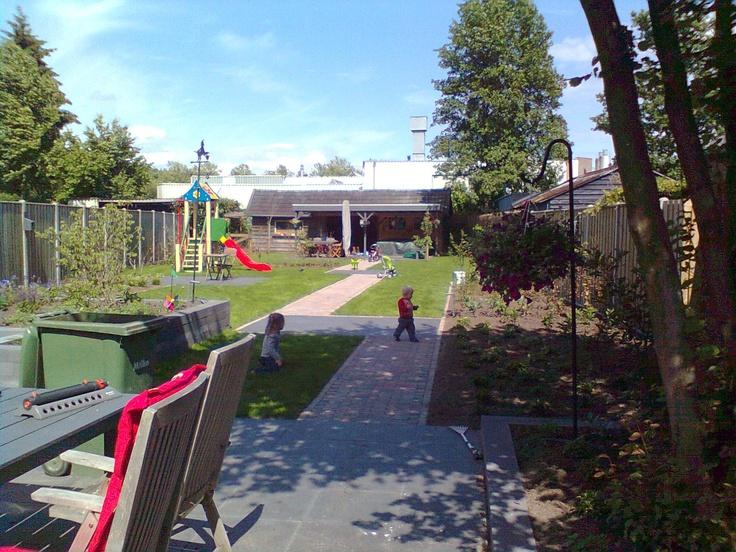 Een kindvriendelijke tuin  tuin ideeën  Pinterest  Tuin
