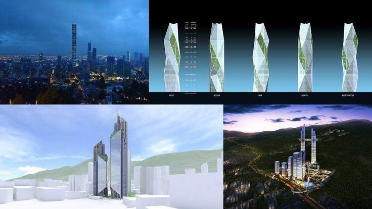 Algunos Edificios & construcciones En Colombia país En América Del SUR 2018