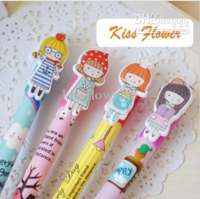 Wholesale Cartoon kawaii korea style ball pen Promotion pen 48Pcs/lot, Free shipping, $0.58-0.67/Piece | DHgate