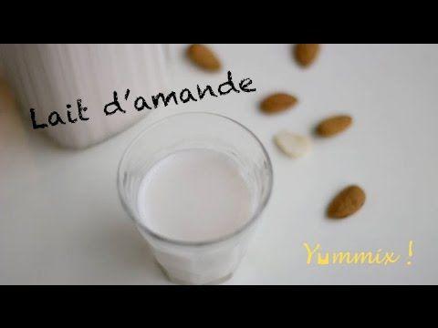 Recette de lait d'amande au Thermomix   Yummix