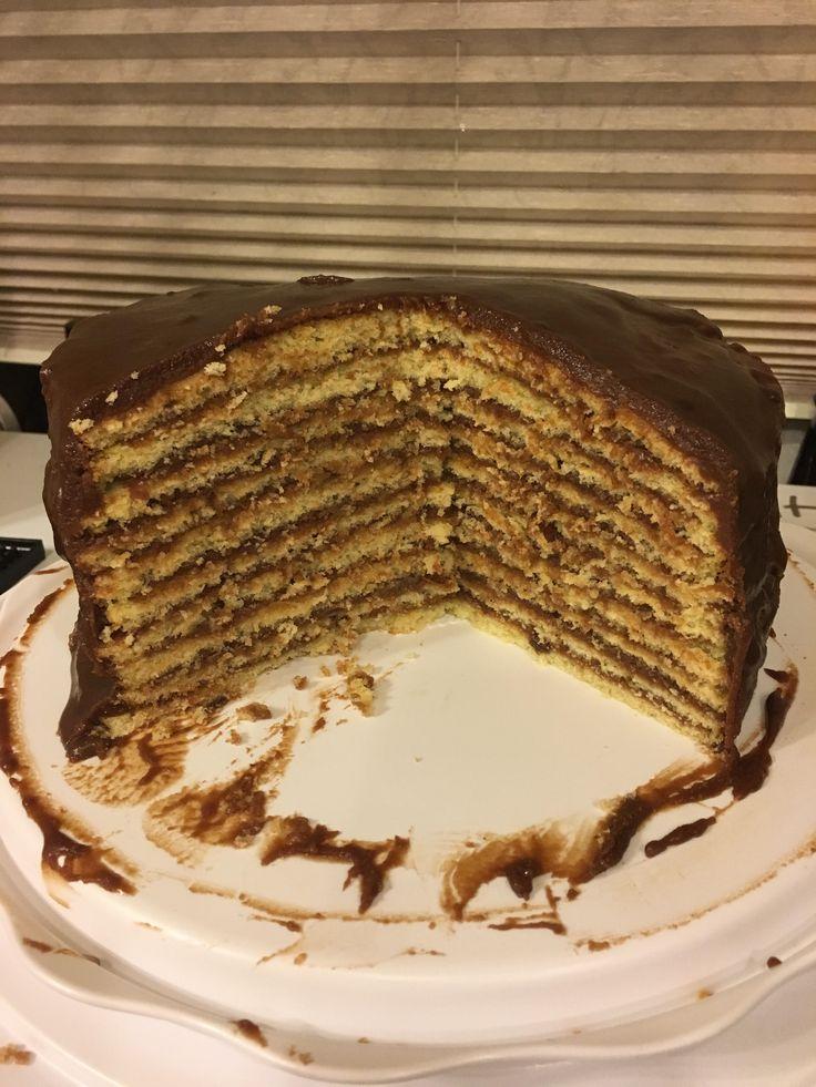 Smith Island Cake! [homemade] http://ift.tt/2gS1vRp #TimBeta