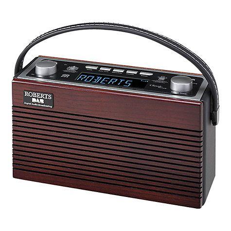 Buy ROBERTS Classic Blutune Bluetooth DAB/DAB+/FM Digital Radio Online at johnlewis.com