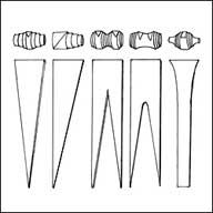 Variations for paper bead making