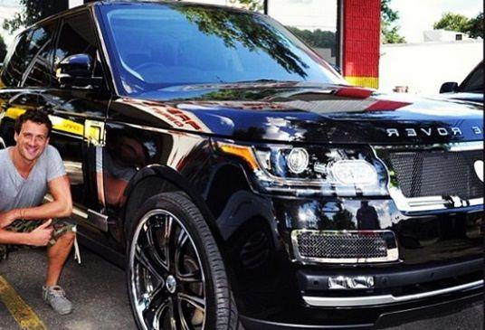 Ryan Lochte Range Rover