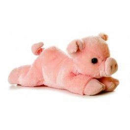 "Percy+Pig+Mini+Flopsie+8""+Plush+by+Aurora+-+31180"