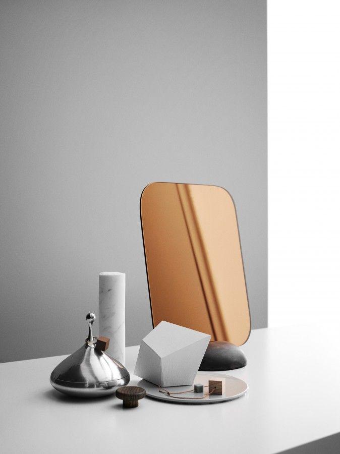 Design by Olso-based #design team. #mirror #bathroom