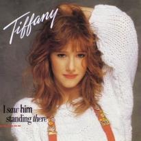 """Radio II, side A, track 3: """"I Saw Him Standing There"""" by Tiffany"""