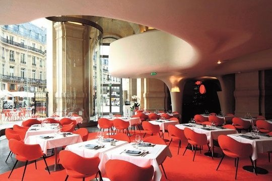 New resto at the Opera Garnier in Paris...I hear it's a little pricey but I suppose it's all about location, location, location...