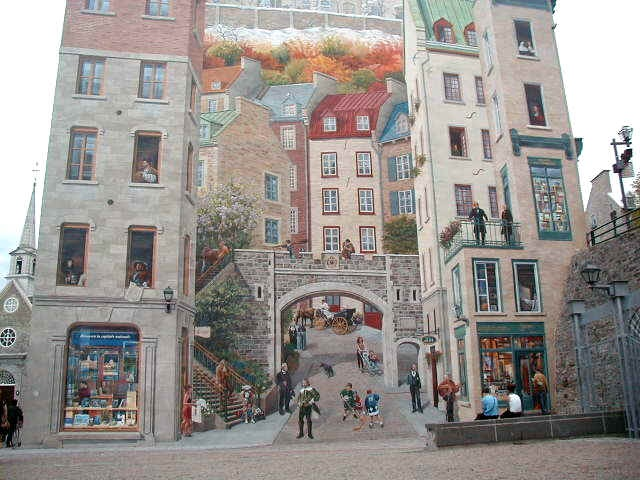 quebec city wall - Google Search