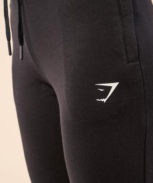 Gymshark High Waisted Joggers - Black 4