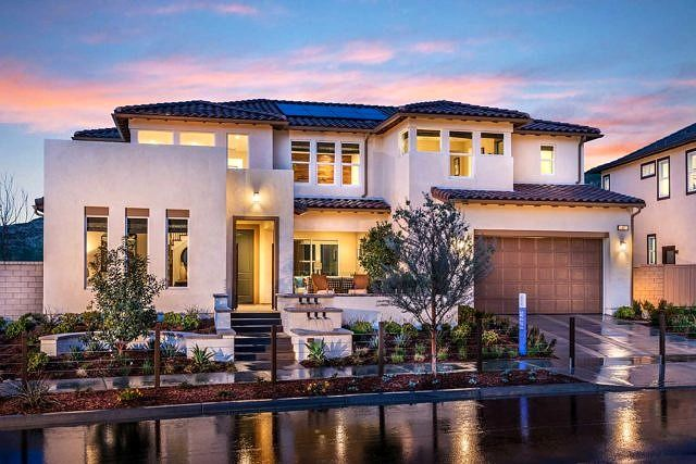 New Homes For Sale In La Quick Move In Homes Pardee Homes Mediterranean House Plans Mediterranean Homes Mediterranean Homes Exterior