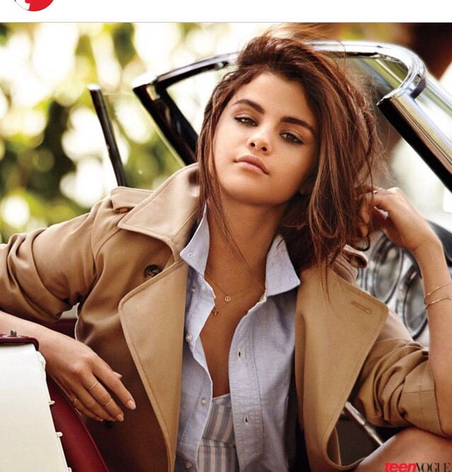Selena Gomez Teen Vogue DEC./JAN. Issue