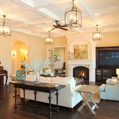 Superior Living Room Off Center Fireplace Design Ideas, Pictures, Remodel And Decor  | For The Home | Pinterest | Fireplace Design, Living Rooms And Room Part 27