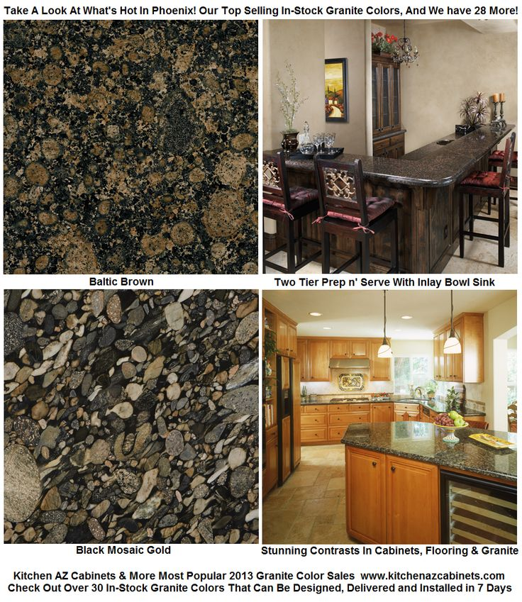 Superior Over 30 Colors In Stock Granite Countertops And Vanity Colors For Phoenix  Kitchen And Bathroom