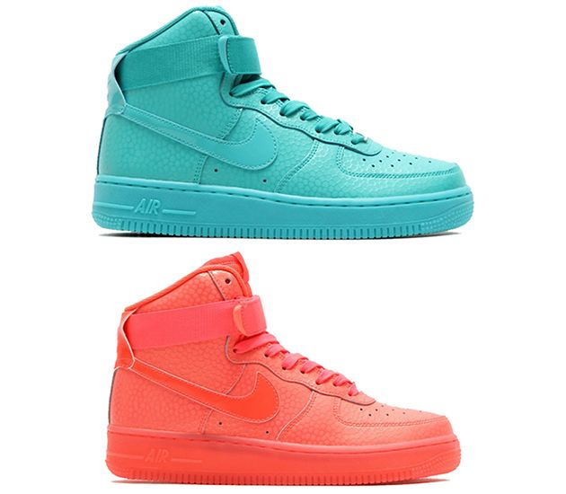 ... Nike Air Force 1 25th High Mens Running Shoe Red ...