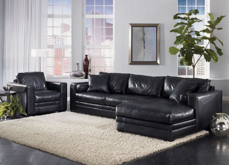 The Atlanta Leather Sectional : leather sectional atlanta - Sectionals, Sofas & Couches