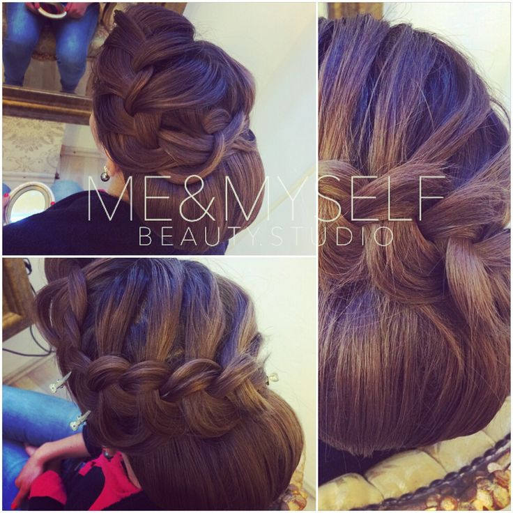 Summer wedding hairstyle