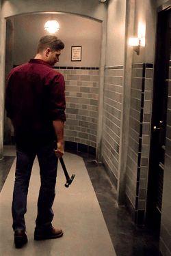 Deanmon in action lol #Supernatural 10x03 Soul Survivor <3 (Demon Dean)
