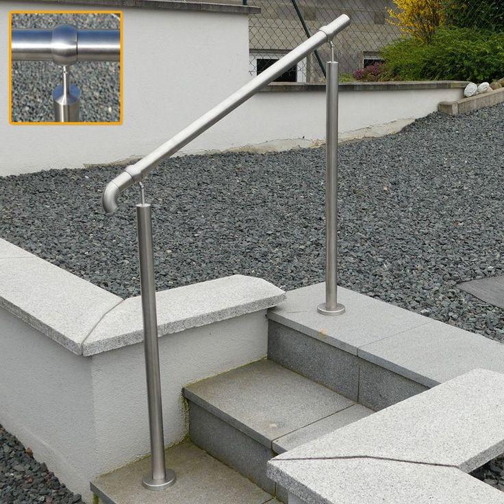 Les 25 meilleures id es de la cat gorie rampe escalier for Escalier exterieur granit