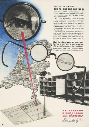 1938 Piet Zwart 'Boek van PTT' illustrations by Dick Elffers