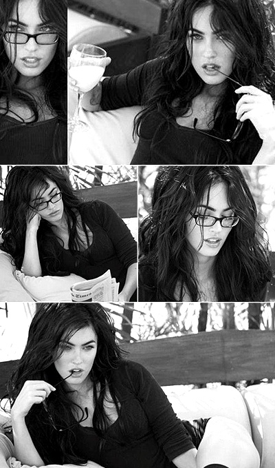 Megan Fox - I mean....who doesn't love Megan??? It's a given.