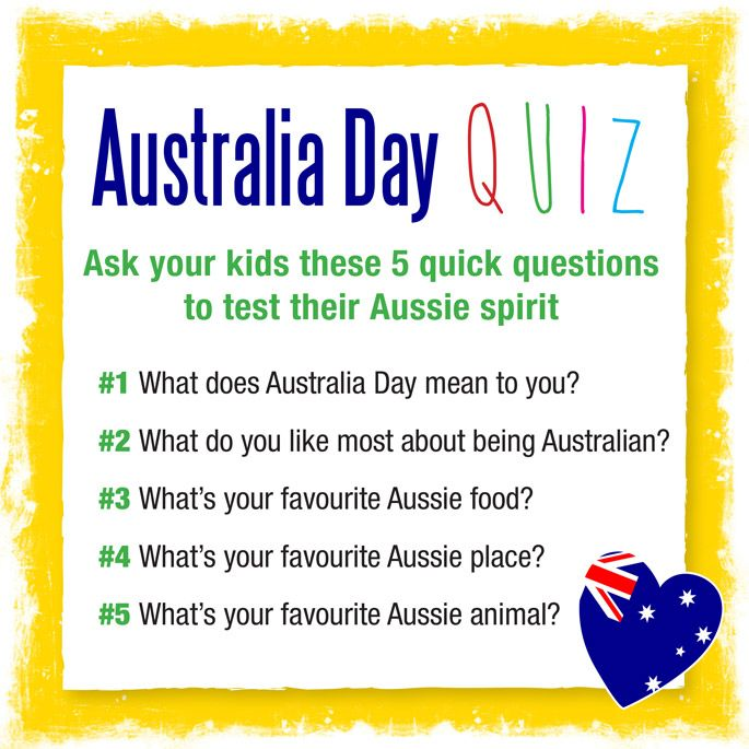 Questions to ask a date in Australia