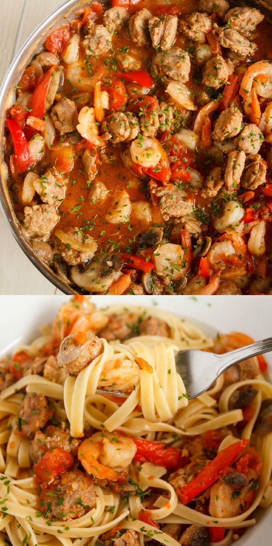 Shrimp and Sausage Pasta Sauce 1                              …