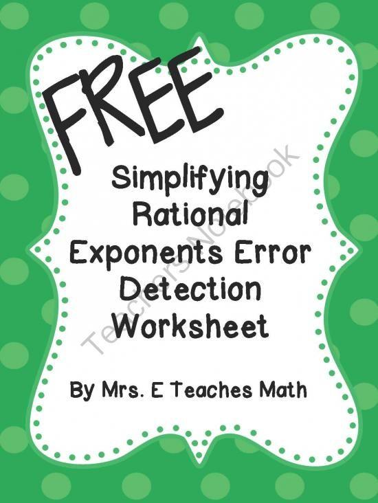 simplifying rational exponents worksheet answers simplifying radical expressions rational. Black Bedroom Furniture Sets. Home Design Ideas