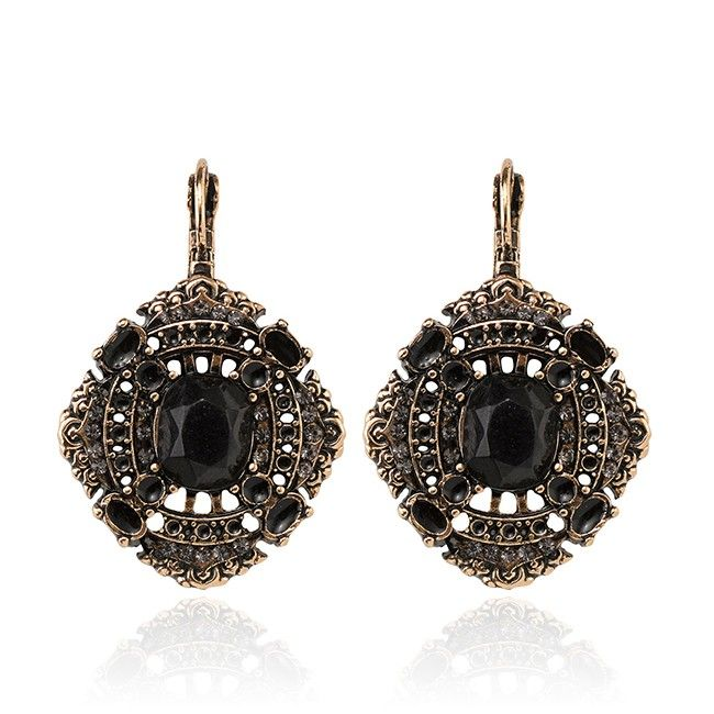 SAMANTHA WILLS - MOMENTS BY THE MOONLIGHT EARRINGS - BLACK