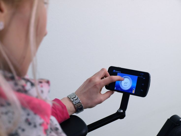 With modern communication aids, users of electric powered wheelchairs can operate a PC and cellphone without human assistance. A new module is set to transform electric powered wheelchairs into communication hubs.