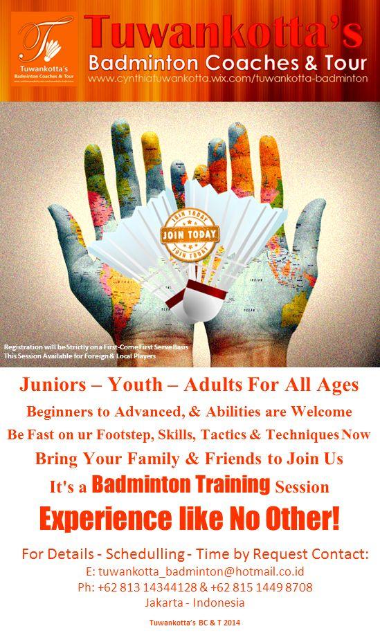 Tuwankotta's Badminton Training