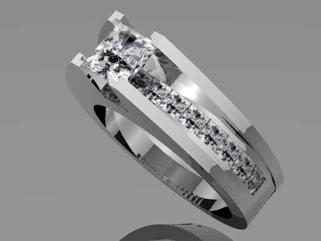 Bridge Over Water Engagement Ring Jewelry Pinterest