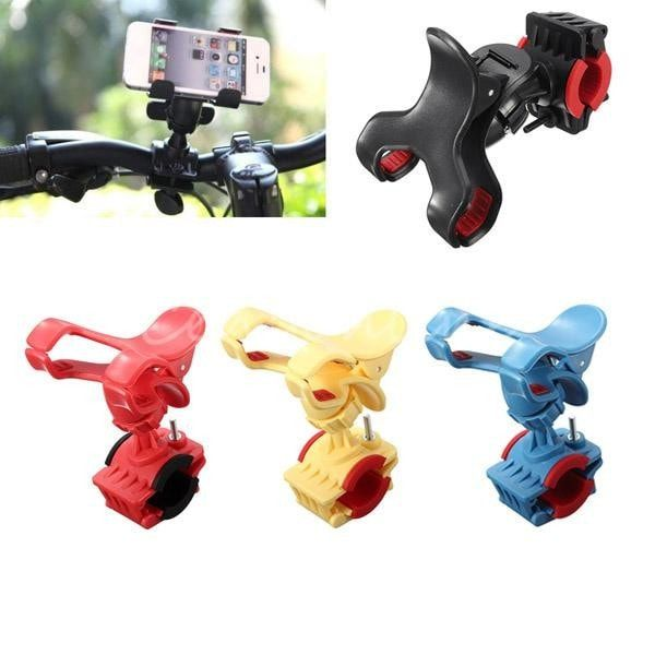 360 Rotatable Bicycle Handlebar Clip Stand Mount Bracket For iPhone. 360 Rotatable Bicycle Handlebar Clip Stand Mount Bracket For iPhone    Description:  360°rotatable steering linkage design.  Can hold phones, GPS, MP4 and other devices  Good performance, keeping your devices stable.  An adjustable clamp design on the pedestal, convenient installation onto different bikes.  Makes your phone or other devices stay close to your hands and easy to get it when driving.  Adjustable holding…