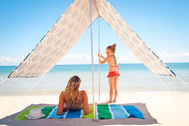 15 super beach tents and sun shelters