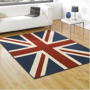£30 Buckingham Union Jack Rugs 120 x 160cm: Amazon.co.uk: Kitchen & Home