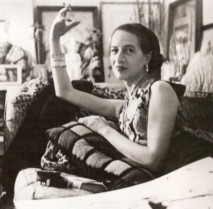 The one and only Diana Vreeland, the lady who invented the job of fashion editor.  Photo via http://legacy.dianavreeland.com